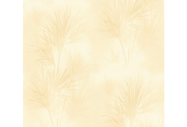 AS Création Vliestapete Exotic Life Tapete mit Palmenblättern gelb 372752 10,05 m x 0,53 m