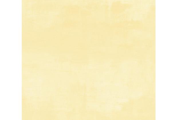 AS Création Vliestapete Exotic Life Tapete Uni gelb 372782 10,05 m x 0,53 m