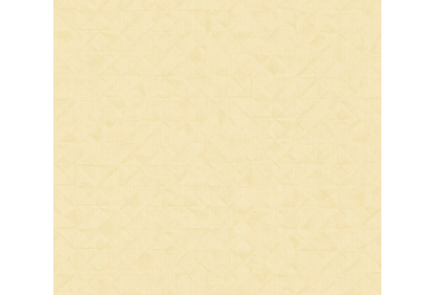 AS Création Vliestapete Exotic Life Tapete Uni geometrisch grafisch gelb 372845 10,05 m x 0,53 m