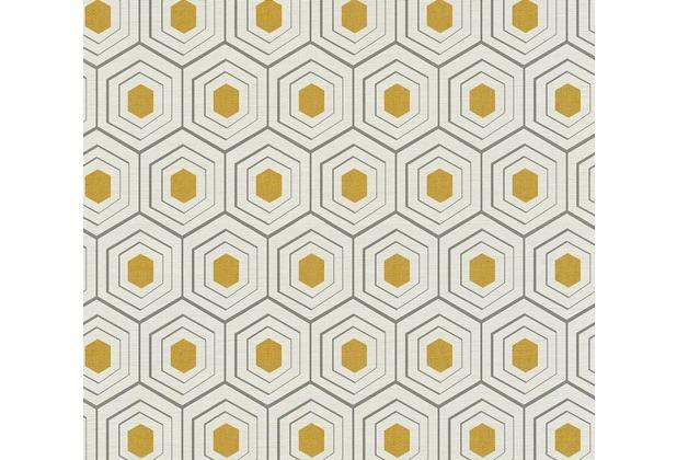 AS Création Vliestapete Four Seasons Tapete metallic beige grau 358993 10,05 m x 0,53 m