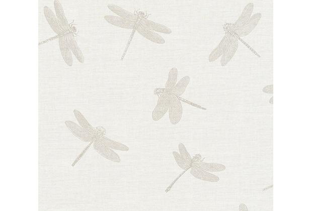 AS Création Vliestapete Four Seasons Tapete metallic creme beige 358972 10,05 m x 0,53 m