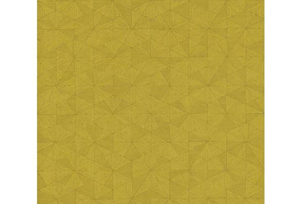 AS Création Vliestapete Four Seasons Tapete metallic gelb 358958 10,05 m x 0,53 m