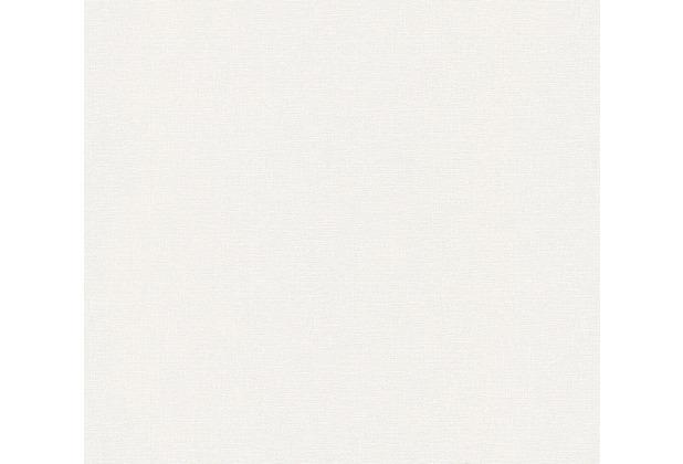 AS Création Vliestapete Greenery Tapete Uni creme 367132 10,05 m x 0,53 m