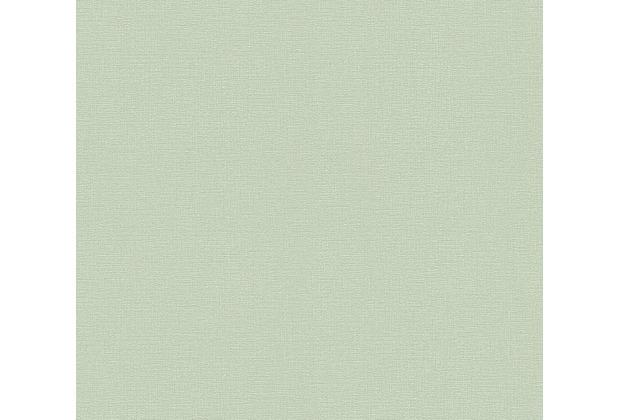 AS Création Vliestapete Greenery Tapete Uni grün 367136 10,05 m x 0,53 m