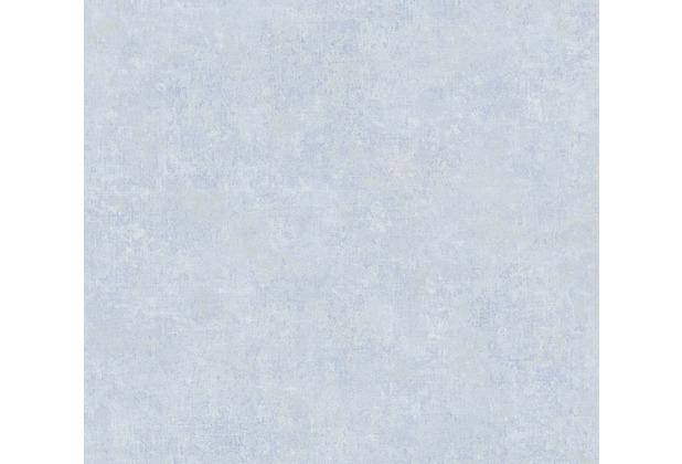 AS Création Vliestapete History of Art Unitapete blau 376554 10,05 m x 0,53 m