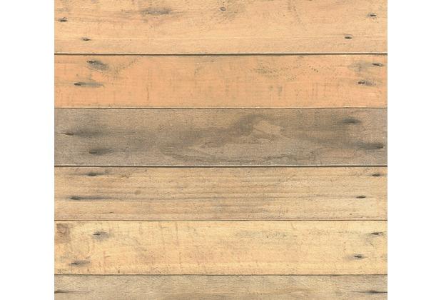 AS Création Vliestapete Il Decoro Tapete in Vintage Holz Optik beige braun grau 368701 10,05 m x 0,53 m