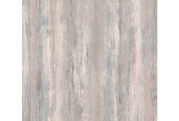 AS Création Vliestapete Il Decoro Tapete in Vintage Optik beige braun metallic 367504 10,05 m x 0,53 m