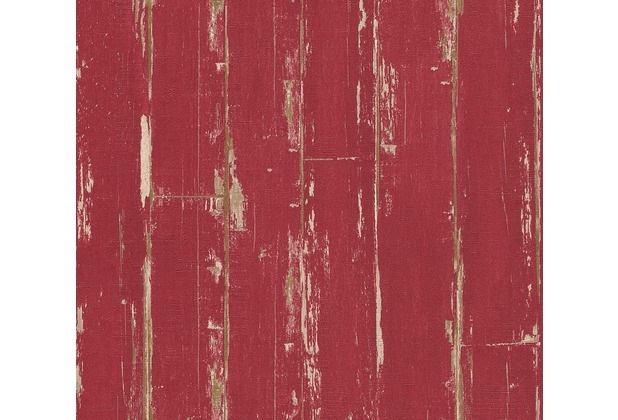 AS Création Vliestapete Il Decoro Tapete in Vintage Optik rot 368561 10,05 m x 0,53 m