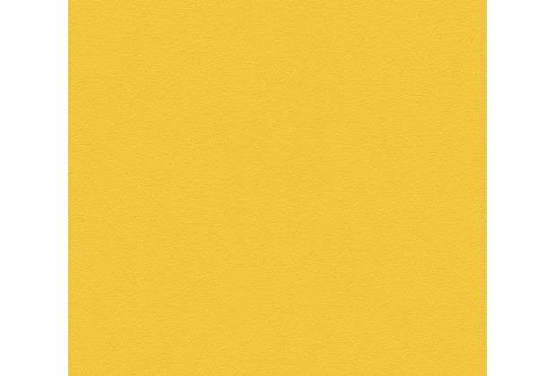 AS Création Vliestapete Il Decoro Tapete Uni gelb 309655 10,05 m x 0,53 m