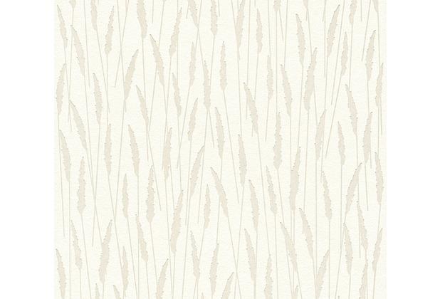 AS Création Vliestapete Jubelwände Tapete metallic weiß 358611 10,05 m x 0,53 m