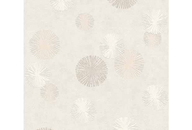 AS Création Vliestapete Life 4 Tapete beige creme metallic 356071 10,05 m x 0,53 m