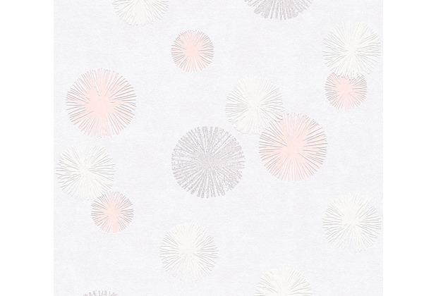 AS Création Vliestapete Life 4 Tapete creme metallic rosa 356072 10,05 m x 0,53 m