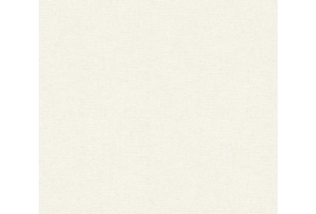 AS Création Vliestapete Life 4 Tapete metallic weiß 356468 10,05 m x 0,53 m