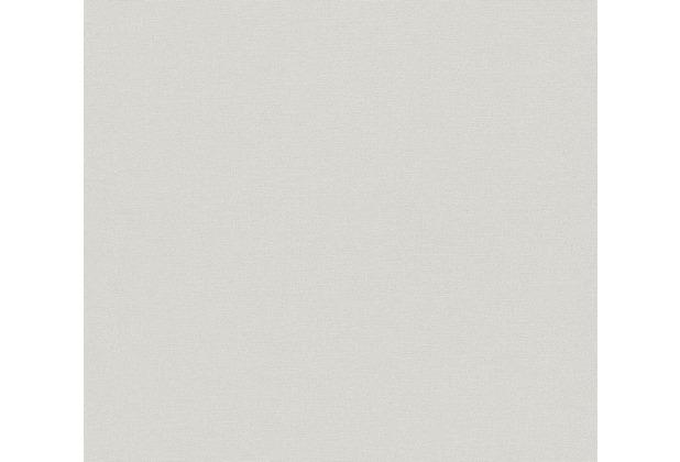 AS Création Vliestapete Linen Style Tapete Uni grau 367612 10,05 m x 0,53 m