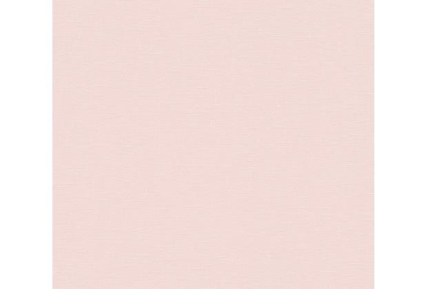 AS Création Vliestapete Linen Style Tapete Uni rosa 366344 10,05 m x 0,53 m