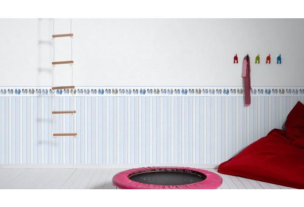 AS Création Vliestapete Little Stars Ökotapete PVC-frei grau 10,05 m x 0,53 m