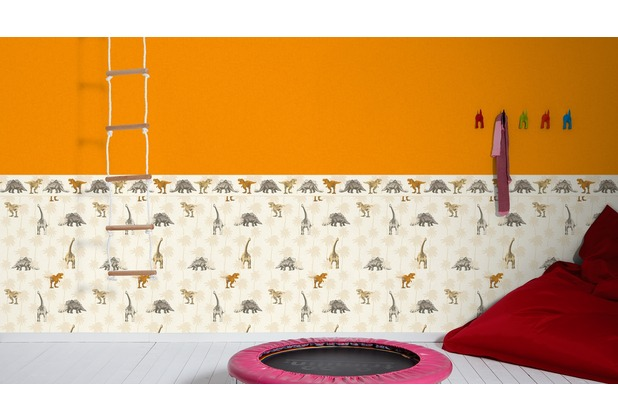 AS Création Vliestapete Little Stars Ökotapete PVC-frei orange 358346 10,05 m x 0,53 m