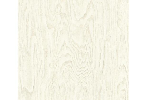 AS Création Vliestapete Materials Tapete in Holz Optik creme beige 363322 10,05 m x 0,53 m