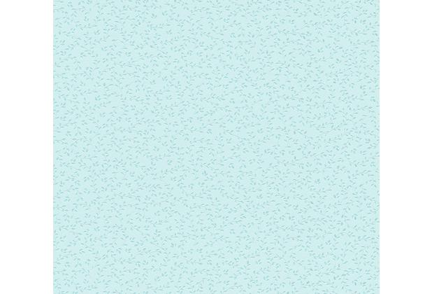 AS Création Vliestapete mit Glitter Blooming Tapete floral metallic blau grün 372654 10,05 m x 0,53 m