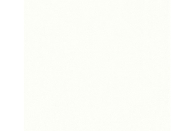 AS Création Vliestapete mit Glitter Trendwall Tapete Uni creme metallic weiß 369017 10,05 m x 0,53 m