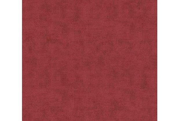AS Création Vliestapete Neue Bude 2.0 Edition 2 Tapete in Vintage Uni Optik rot 374172 10,05 m x 0,53 m