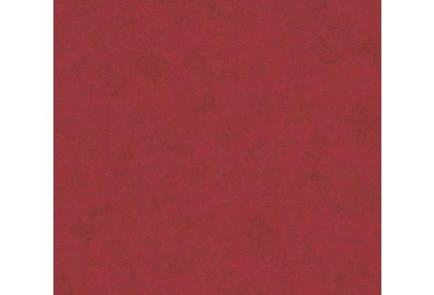 AS Création Vliestapete Neue Bude 2.0 Edition 2 Tapete Used Glam Vintage Uni Optik rot 374448 10,05 m x 0,53 m