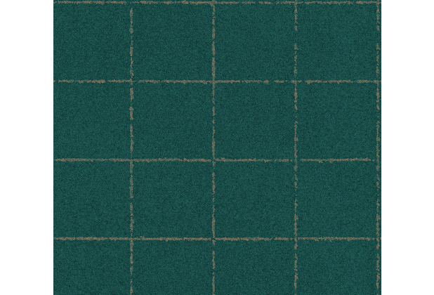 AS Création Vliestapete New Elegance Fliesentapete grün metallic 375511 10,05 m x 0,53 m
