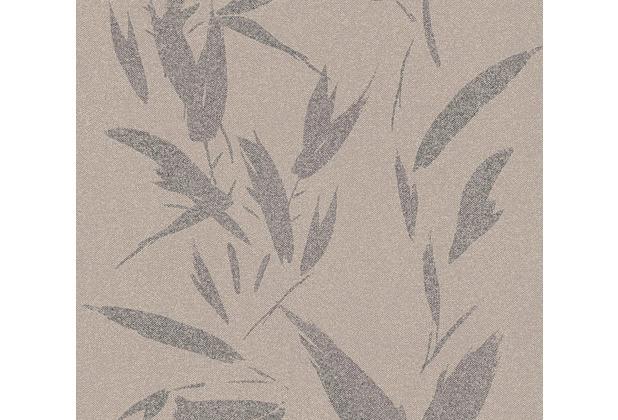AS Création Vliestapete New Elegance Palmentapete beige braun grau 375493 10,05 m x 0,53 m