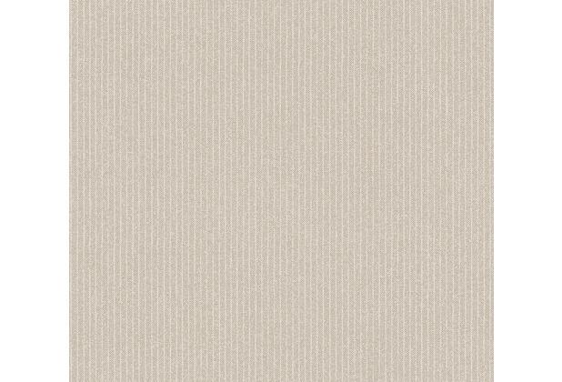 AS Création Vliestapete New Elegance Streifentapete beige creme 375502 10,05 m x 0,53 m