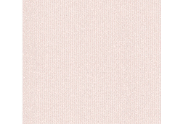 AS Création Vliestapete New Elegance Streifentapete creme rosa 375503 10,05 m x 0,53 m