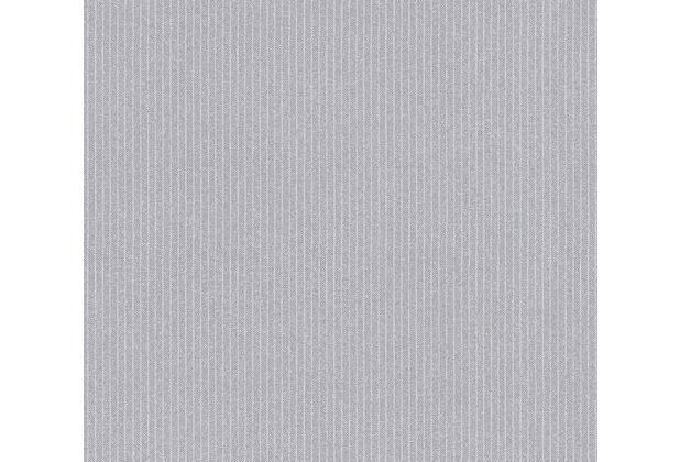 AS Création Vliestapete New Elegance Streifentapete grau 375505 10,05 m x 0,53 m