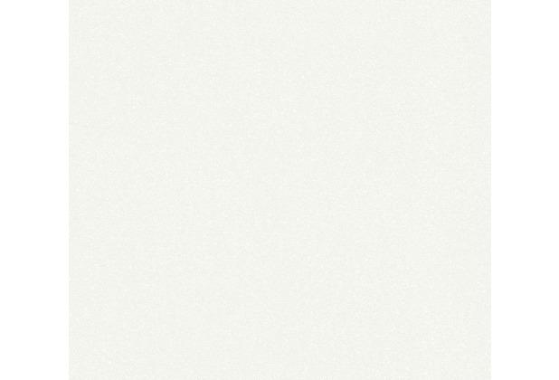 AS Création Vliestapete New Elegance Unitapete weiß 375558 10,05 m x 0,53 m
