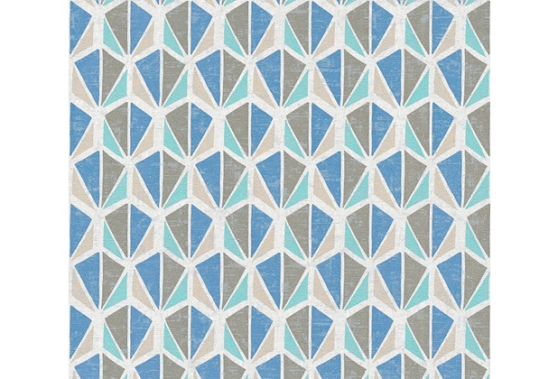 AS Création Vliestapete Pop Colors Tapete beige blau braun 355985 10,05 m x 0,53 m