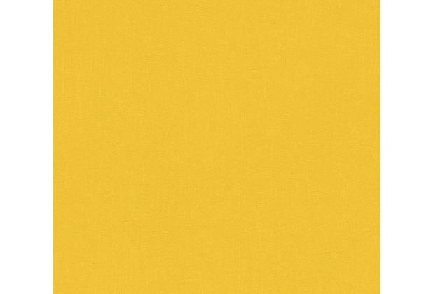 AS Création Vliestapete Pop Colors Tapete gelb 346261 10,05 m x 0,53 m