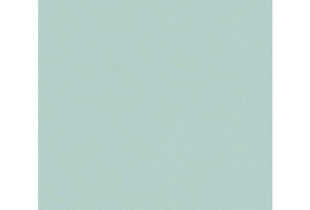 AS Création Vliestapete Pop Style Unitapete blau grün 375117 10,05 m x 0,53 m