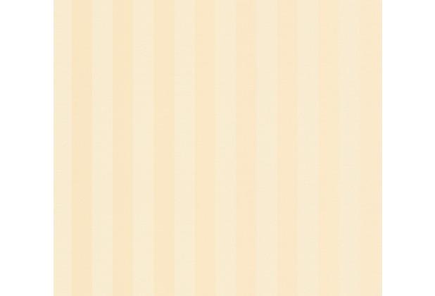 AS Création Vliestapete Romantico Tapete gestreift creme 372272 10,05 m x 0,53 m