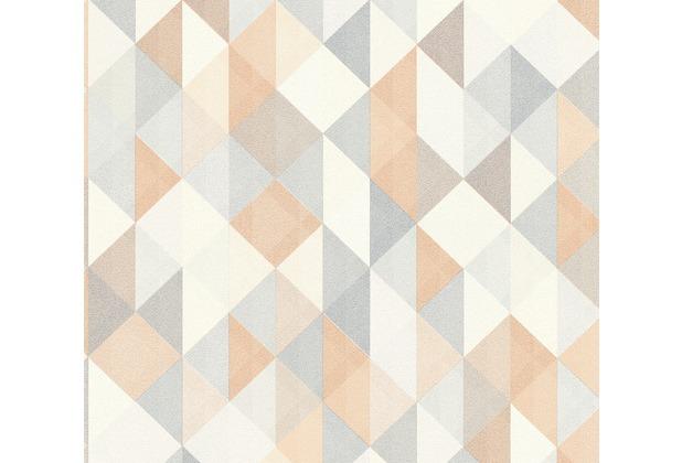 AS Création Vliestapete Scandinavian 2 Tapete geometrisch grafisch beige braun grau 367862 10,05 m x 0,53 m