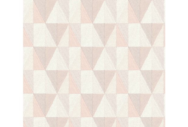 AS Création Vliestapete Scandinavian 2 Tapete geometrisch grafisch orange rosa grau 367233 10,05 m x 0,53 m