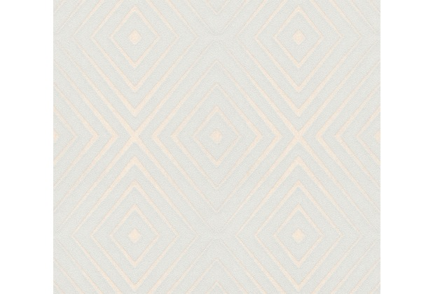 AS Création Vliestapete Scandinavian 2 Tapete in 3D Optik geometrisch grau creme 367854 10,05 m x 0,53 m