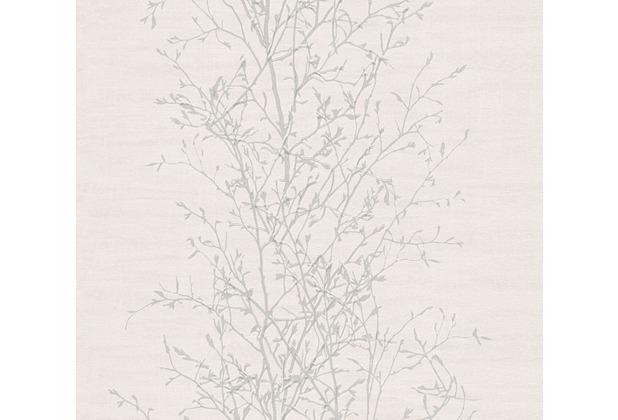 AS Création Vliestapete Scandinavian 2 Tapete mit Ast Muster beige grau 962032 10,05 m x 0,53 m