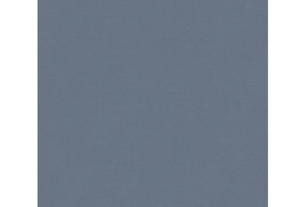 AS Création Vliestapete Scandinavian 2 Tapete Uni blau 367254 10,05 m x 0,53 m