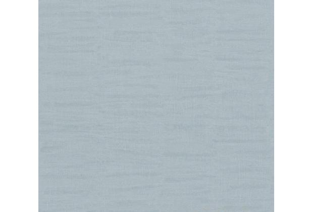 AS Création Vliestapete Scandinavian 2 Tapete Uni blau 962451 10,05 m x 0,53 m