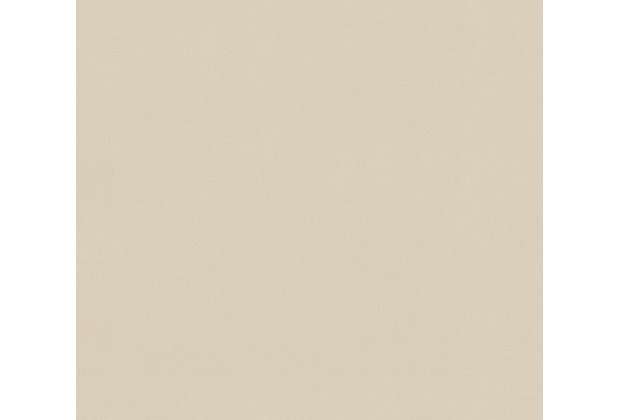 AS Création Vliestapete Scandinavian 2 Tapete Uni braun beige 367253 10,05 m x 0,53 m