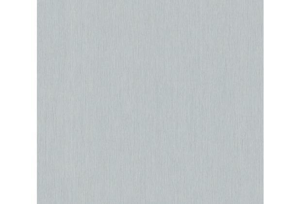 AS Création Vliestapete Sumatra Tapete Uni grau metallic 373752 10,05 m x 0,53 m