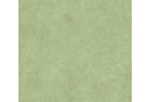 AS Création Vliestapete Sumatra Tapete Uni grün 373707 10,05 m x 0,53 m