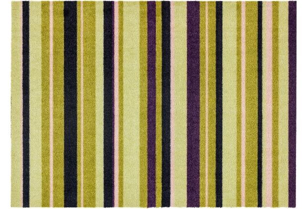 Astra Fußmatte Cardea Olio- Streifen grün 50x70