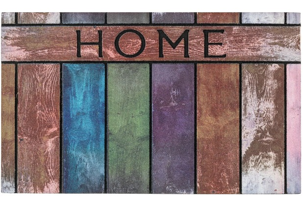 Astra Fußmatte Eco Fashion Holz Home bunt 45x75