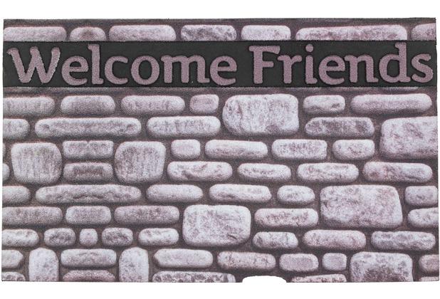 Astra Fußmatte Eco Fashion Steine Welcome F. 45x75