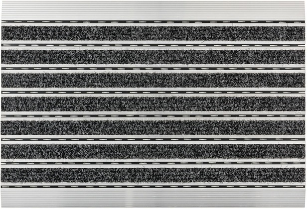 Astra Fußmatte Elegant Mat Rips anthrazit 40x60