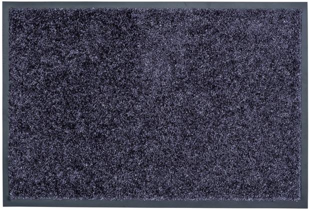Astra Fussmatte Proper Tex blaugrau 60 cm x 90 cm